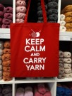Keep calm and carry yarn thumbnail
