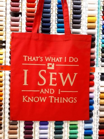 I sew and I know things