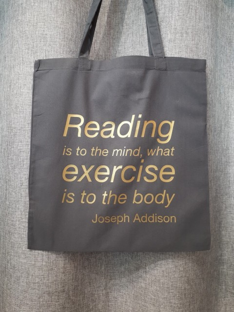 Reading is to the mind....